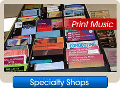 Specialty Shops - Print Music