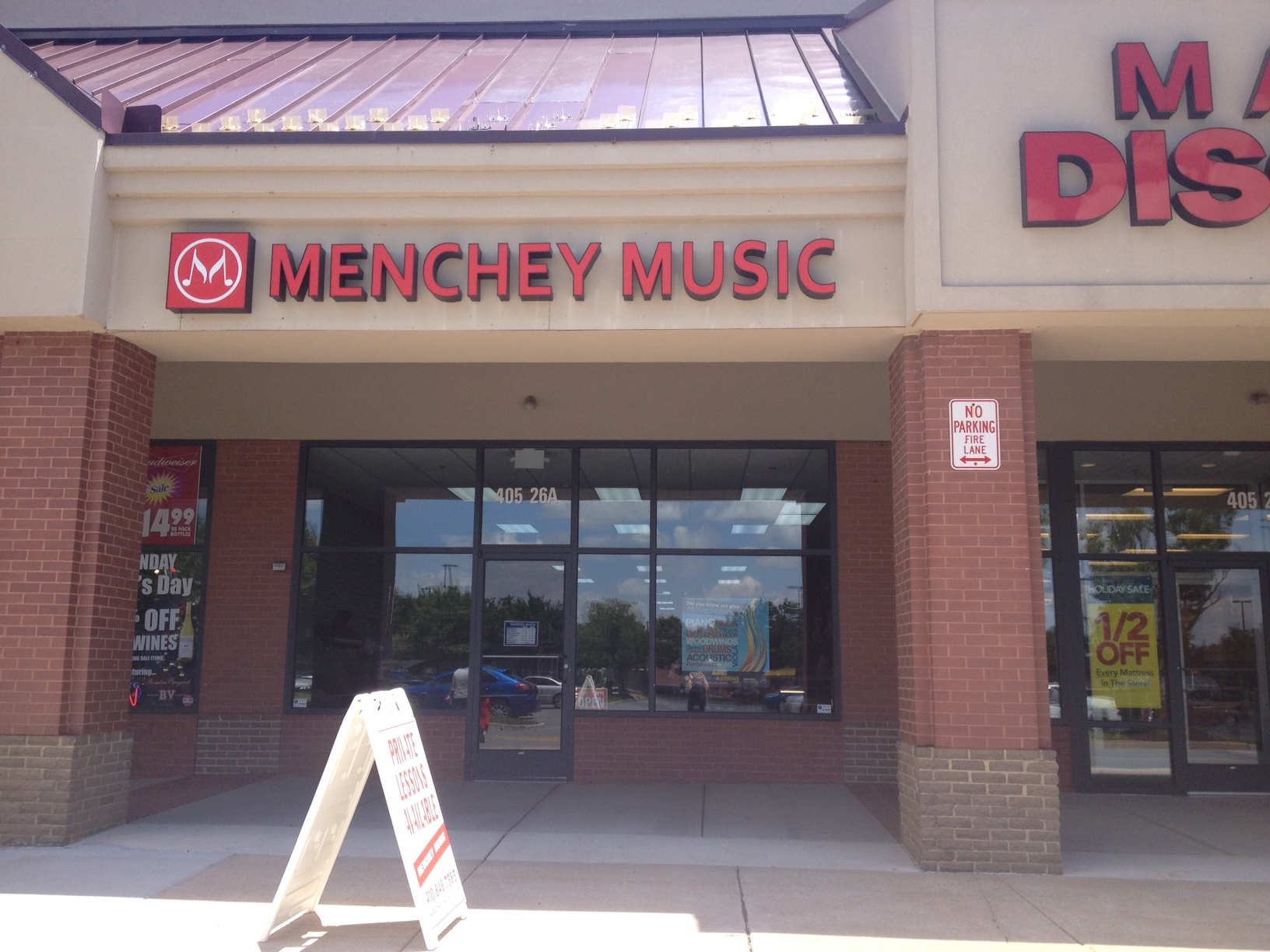 Menchey Music In Westminster Md Musical Instruments