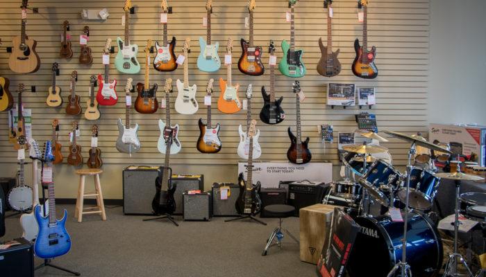 Menchey Music Store in York, PA