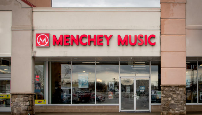 Storefront of our York location.
