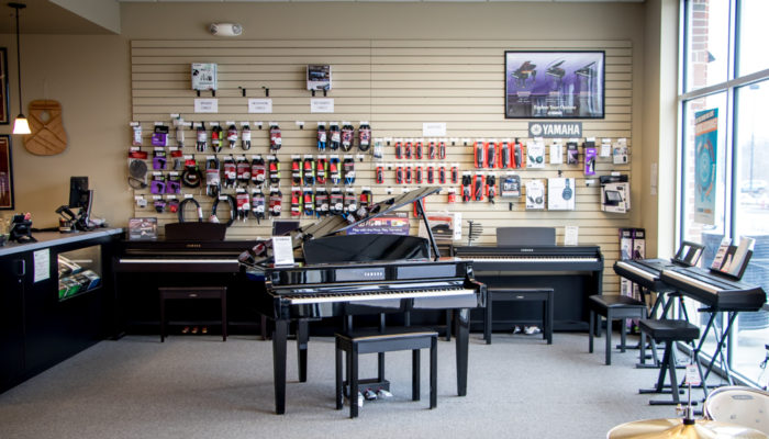 Yamaha clavinova digital pianos.