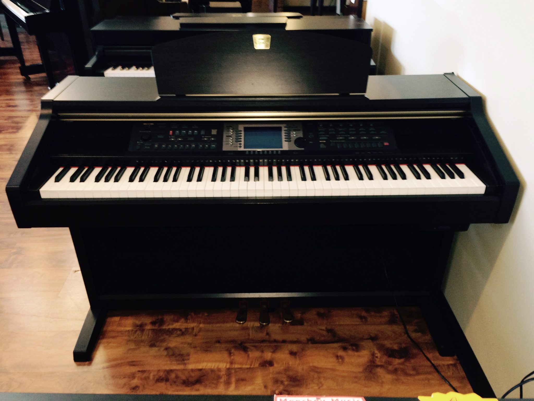 Yamaha clavinova model cvp203 menchey music for Used yamaha clavinova cvp for sale