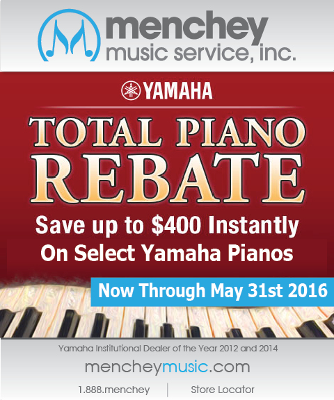 EBLAST Yamaha Total Piano Rebate 2016