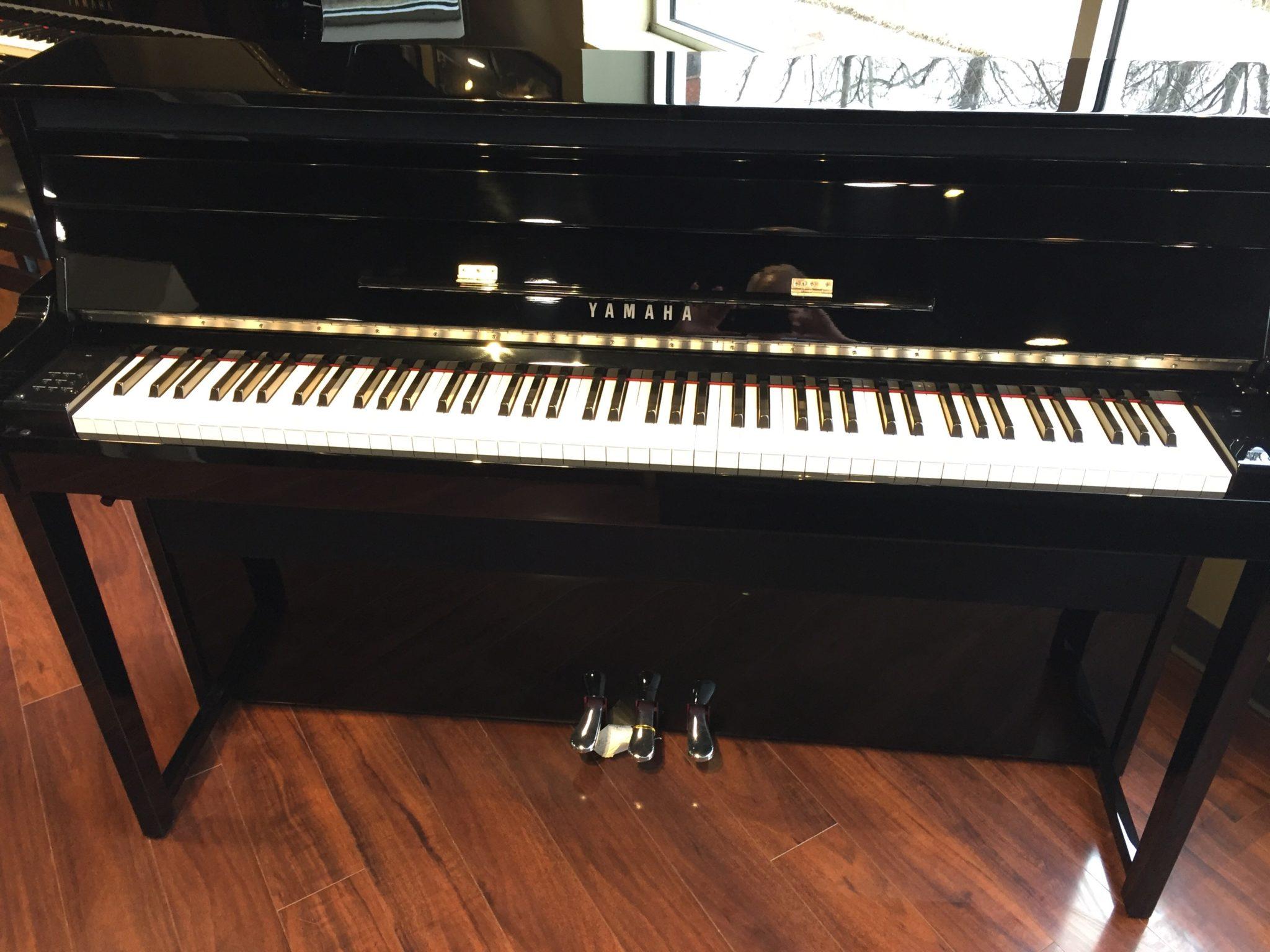 Yamaha – Model NU1 hybrid upright piano