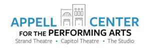 Appell Center for the Performing Arts logo.