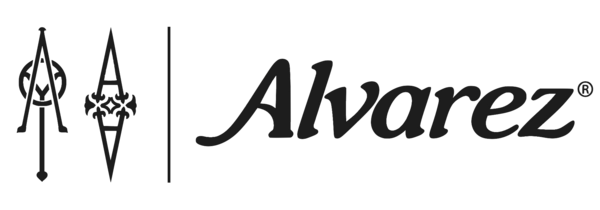 Alvarez musical instrument products logo.