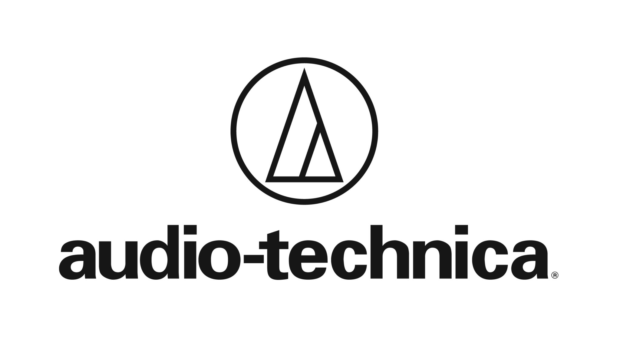 Audio-technica music products logo.