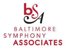 Baltimore Symphony Associates logo.