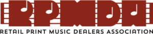 Retail Print Music Dealers Associations logo.