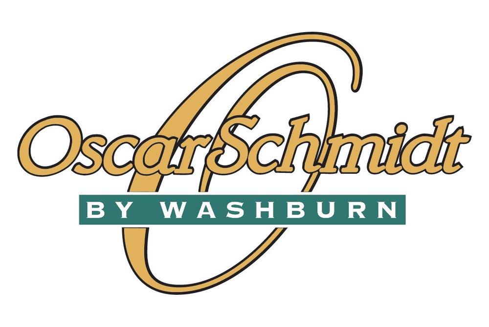 Oscar Schmidt by Washburn music products logo.
