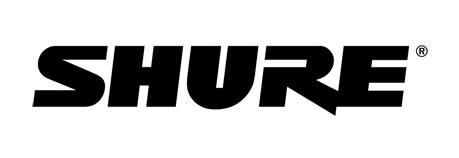 Shure microphones logo.