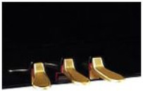 Yamaha acoustic piano pedals