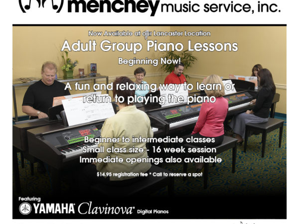 Group Piano Lessons at Lancaster Location