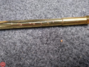 red rot on brass