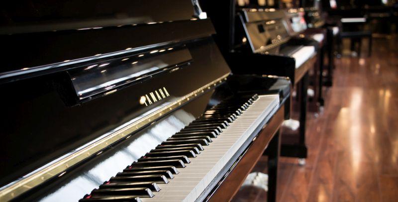 Acoustic digital pianos large selection of yamaha for Yamaha piano dealers