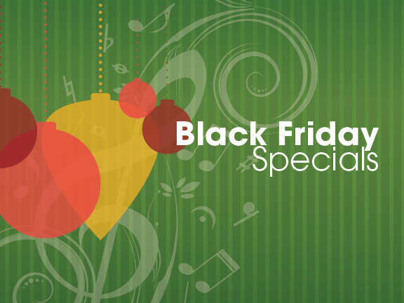 2018 Black Friday Specials