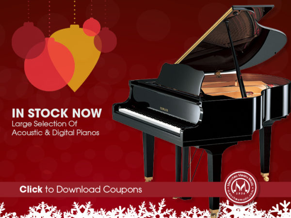 2018 Holiday Piano Coupons