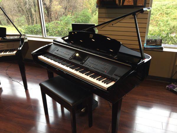 Yamaha – Model CVP-309GP Clavinova baby grand piano