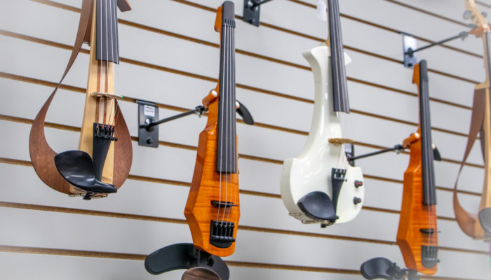 Electric Violins and violas