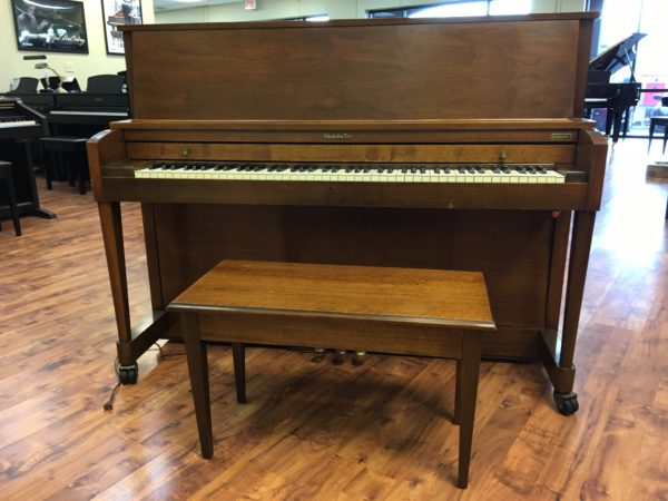 "Baldwin ""Hamilton"" Studio Piano (45″ Walnut)"