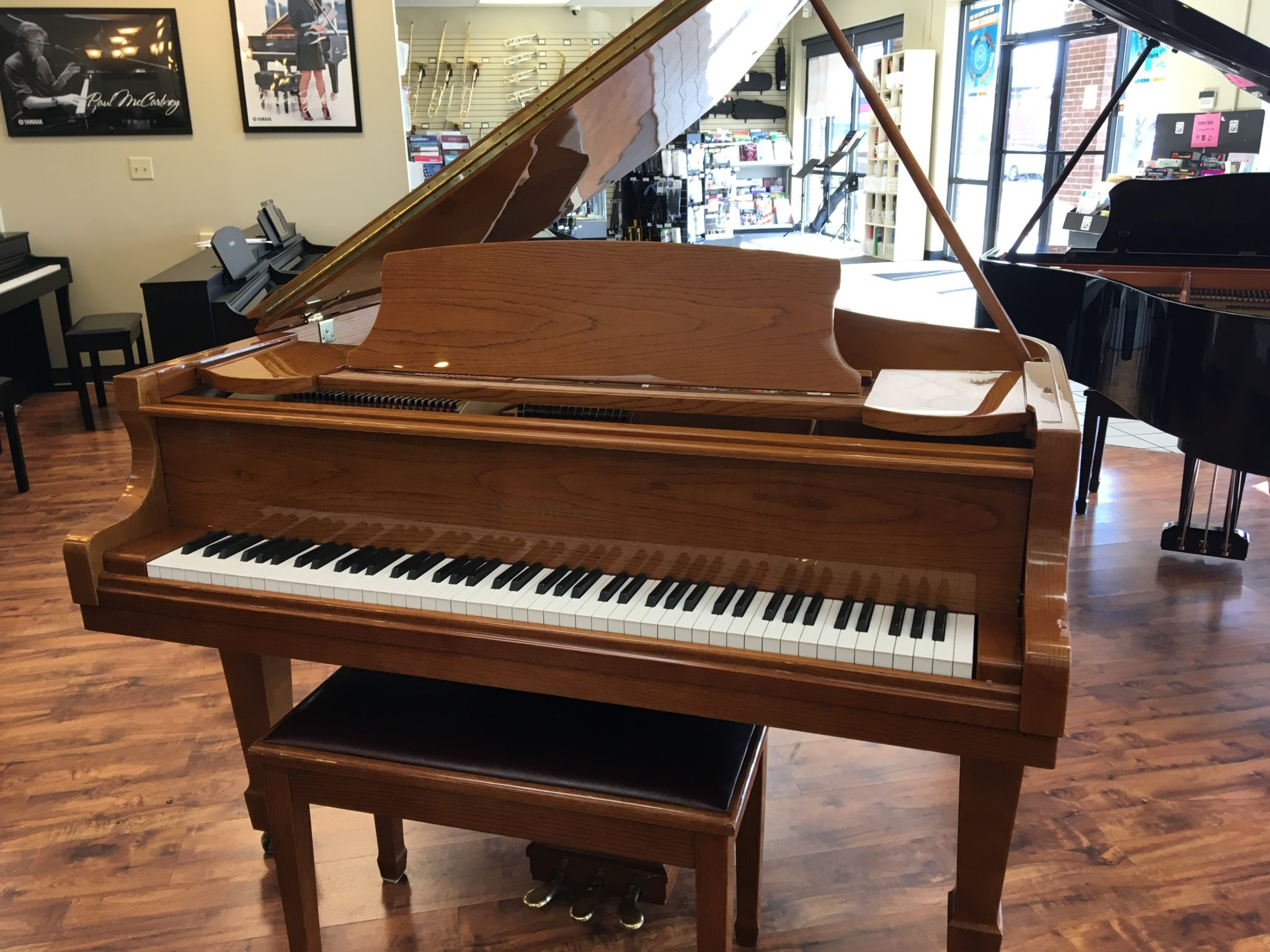 Beautiful Used Samick Baby Grand Piano for Sale   Menchey Music