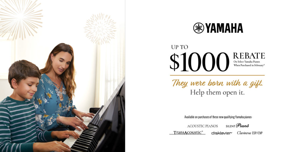 Yamaha Lunar New Year Piano Sale