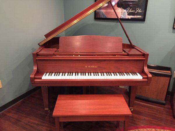 Kawai  – GE-1 (5'1″) satin walnut grand piano (SOLD)