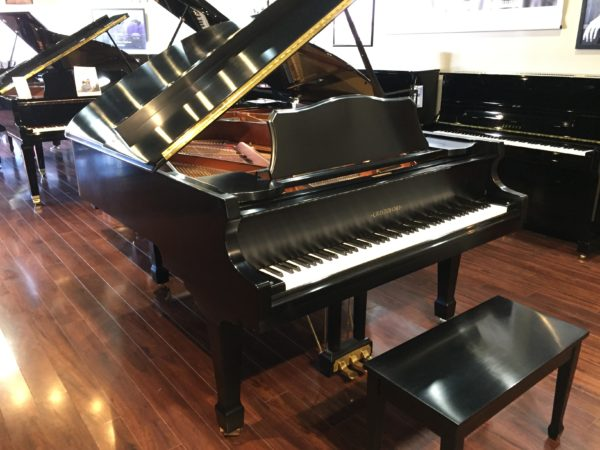 Cristofori 6'2″ Satin Ebony Grand Piano – Model CGR-62 (Sold)