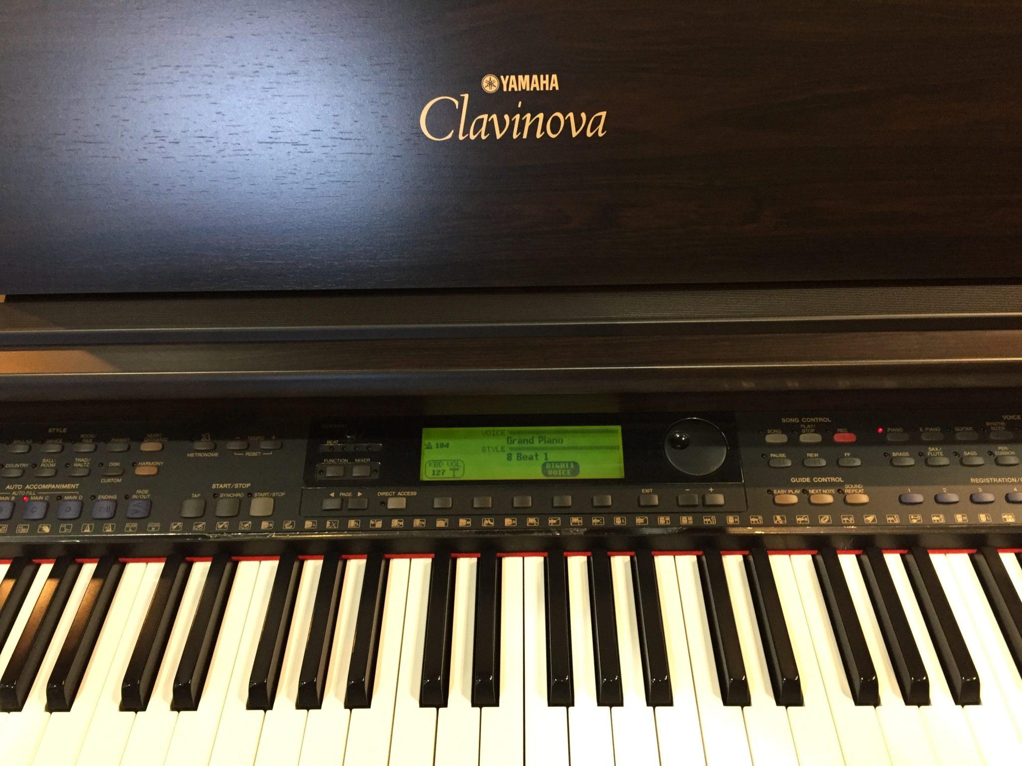 Yamaha Clavinova - Model CVP-103 digital piano (Sold