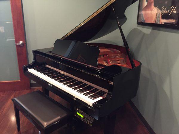 Pre-Owned Yamaha Disklavier Mark III Baby Grand Piano (Sold)