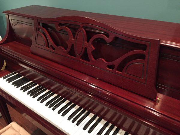 Kohler & Campbell model KC 244-T 44″ upright piano (SOLD)