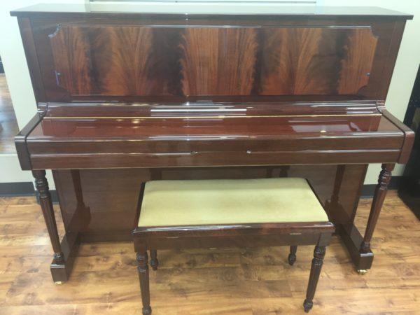 Kemble – 43.5″ Pyramid Mahogany Upright Piano