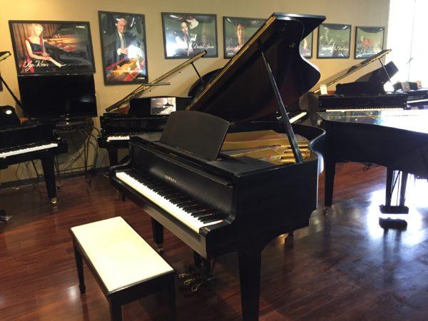 Yamaha – Model GH1 satin ebony 5'3″ grand piano (SOLD)