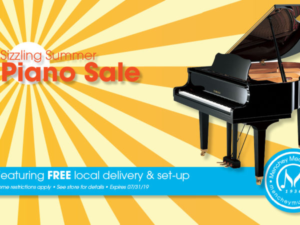 Sizzling Summer Piano Sale