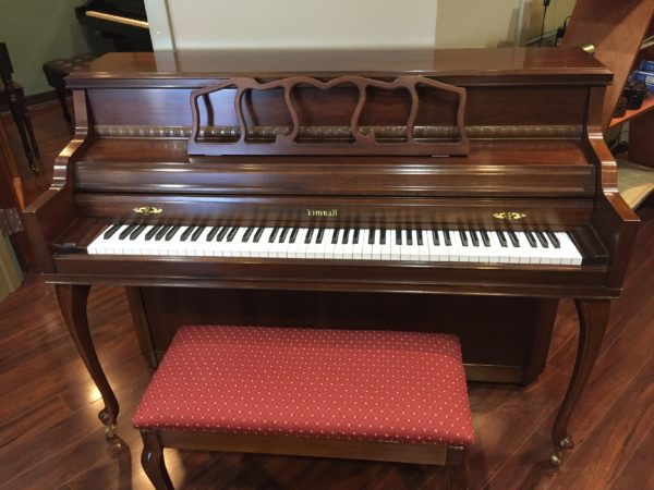 Kimball – Model 413R – Cherry 42″ console piano **SOLD**