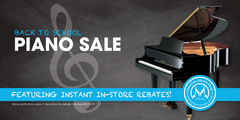 Back to School Piano Sale | Menchey Music