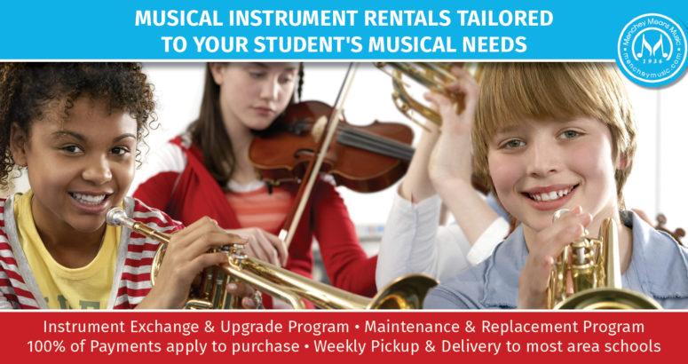 Back to School Instrument Rentals