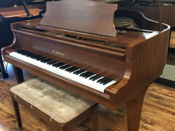Kawai – Model KG-1D – Satin walnut 5'1″ grand piano (SOLD)