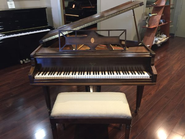J & C Fischer baby grand piano (Reduced)