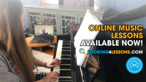 Online music lessons available now!