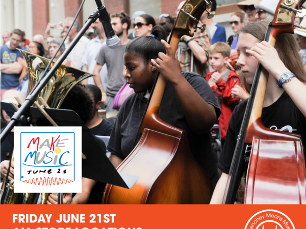 Celebrate Make Music Day on June 20th