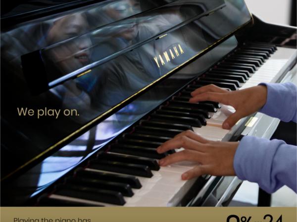 Yamaha Pianos – We Play On!