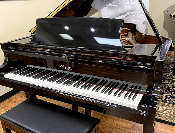Essex (by Steinway) – Model EGP173 (5'8″) – grand piano w/Piano Disc IQ Player System **SOLD**