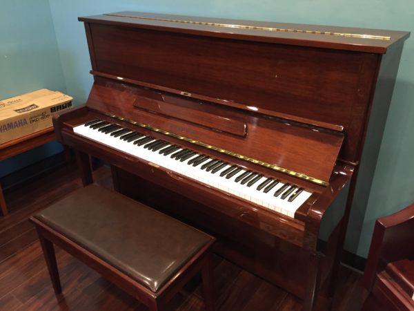 Yamaha – Model U1 polished mahogany  – 48″ professional upright piano **Sale Pending**