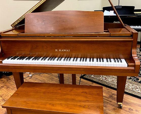 Kawai – Model GE1- 5'1″ – Satin Walnut Grand Piano  **Sold**