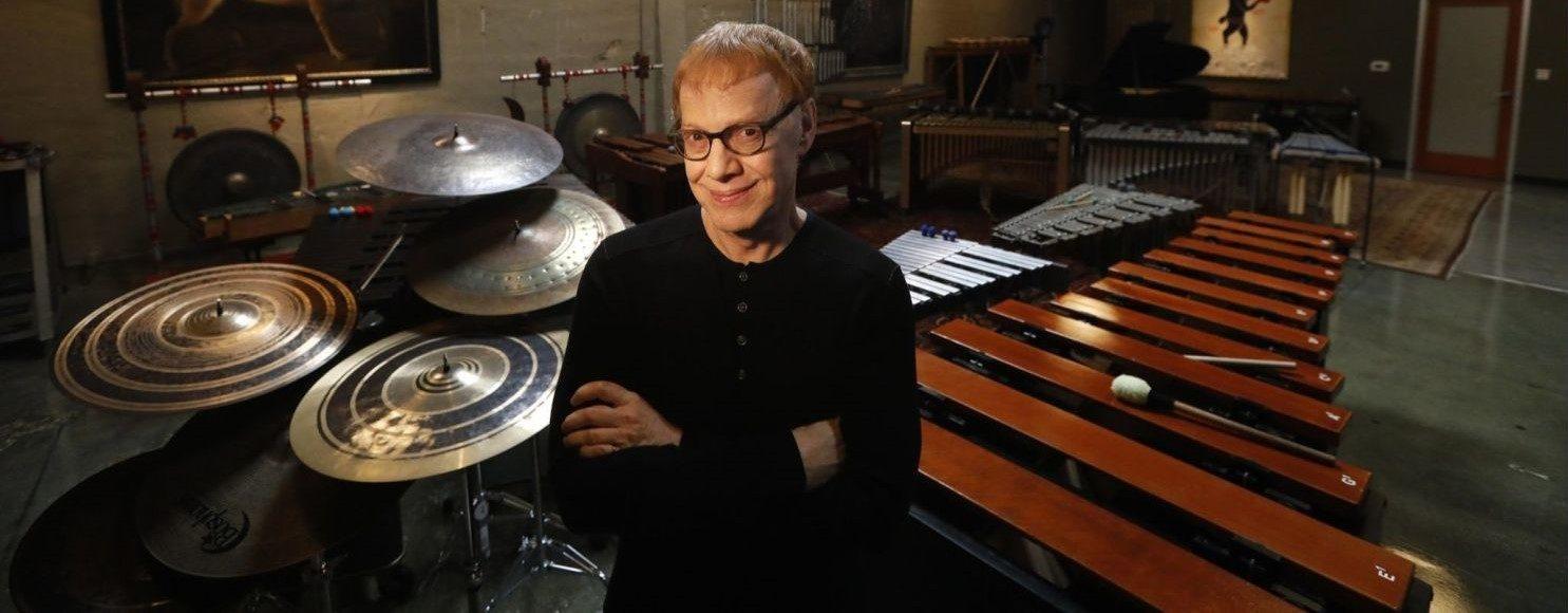 Danny Elfman in the studio.